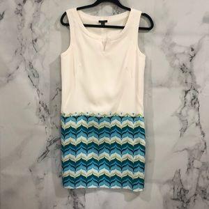 Ann Taylor size 6 Block color dress